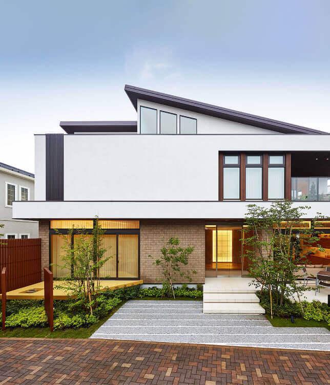 アキュラホーム東京の建てた家の外観