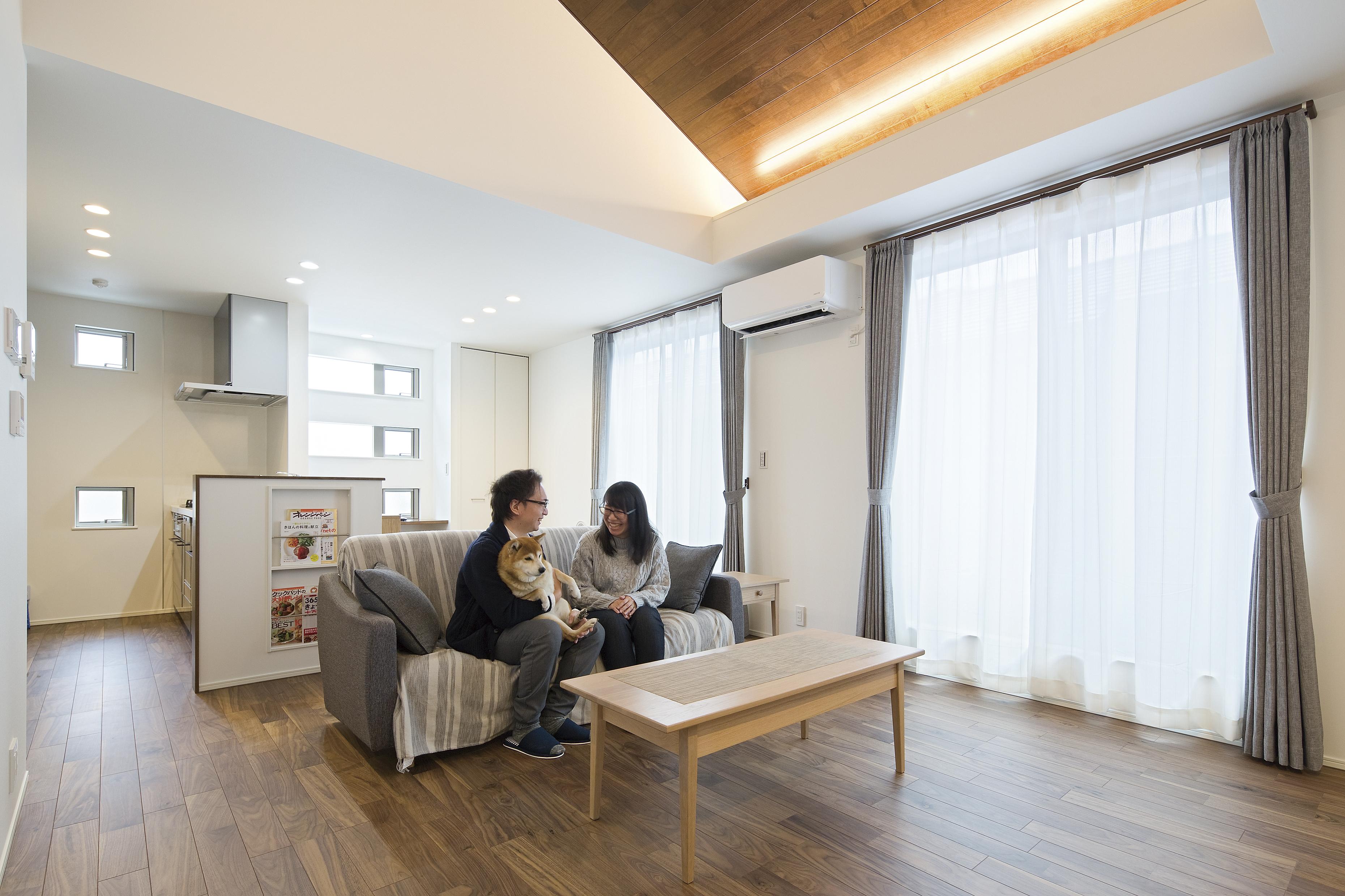 空間の有効活用で広々暮らす付かず離れずの快適な二世帯住宅